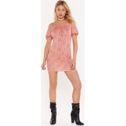 Hard Work Paisley Off-the-Shoulder Mini Dress found on MODAPINS from nasty gal limited for USD $50.00