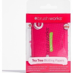 Womens Brushworks Make Me Up Blotting Paper Set - Green found on MODAPINS from nasty gal limited for USD $9.00