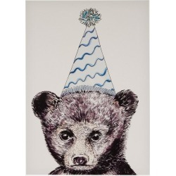 Party Bear A3 Print found on Bargain Bro UK from Liberty.co.uk