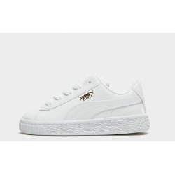 PUMA Basket Classic Patent Infant - Only at JD Australia - White - Kids