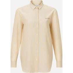 Heartbreak Linen-Cotton Boyfriend Shirt found on MODAPINS from Liberty.co.uk for USD $180.54
