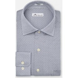 Peter Millar Men's Constellation Woven Long Sleeve Shirt - Blue L found on Bargain Bro India from golftown.com for $126.46