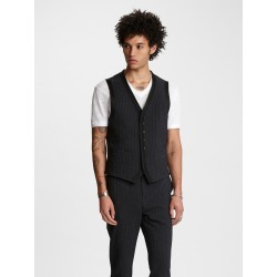 John Varvatos JACQUARD STRIPE VEST found on MODAPINS from john varvatos dynamic for USD $598.00