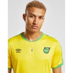 Umbro Jamaica 2019 Home Shirt - Yellow/Green/Black