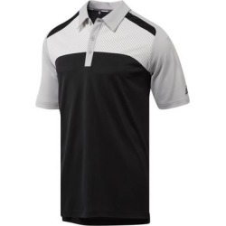 Adidas Men's Blocked Merch Short Sleeve Polo - Black/Gray M found on Bargain Bro India from golftown.com for $53.33