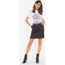 Womens Smells Like Teen Spirit Denim Skirt - Black found on Bargain Bro India from nasty gal limited for $12.00
