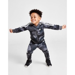 adidas Originals Camo All Over Print Superstar Tracksuit Infant - Only at JD Australia - Grey/White - Kids