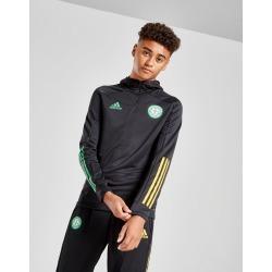 adidas Celtic FC Track Hoodie Junior PRE ORDER - Black - Kids