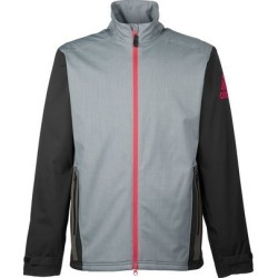 Adidas Men's climaproof Heather Stretch Full Zip Jacket - DARK GRAY/BLACK 2XL found on MODAPINS from golftown.com for USD $121.13