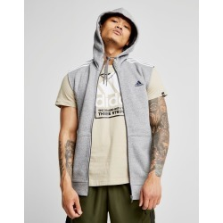 adidas Essential Sleeveless Hoodie - Only at JD - Grey/White - Mens found on MODAPINS from JD Sports Malaysia for USD $77.50