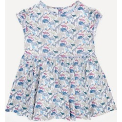 Queue For The Zoo Short Sleeved Dress 2-10 Years found on Bargain Bro UK from Liberty.co.uk