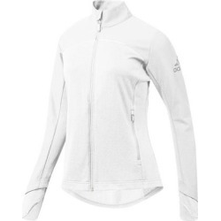 Adidas Women's Go-To Adapt Long Sleeve Full Zip Jacket  - White XS found on Bargain Bro India from golftown.com for $83.80