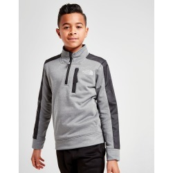 The North Face Mittelegi 1/4 Zip Top Junior - Only at JD Australia - Grey/Black - Kids