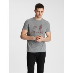 John Varvatos GO PEACE YOURSELF TEE found on MODAPINS from john varvatos dynamic for USD $78.00