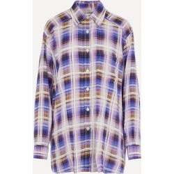 Oma Static TV Check Shirt found on Bargain Bro UK from Liberty.co.uk