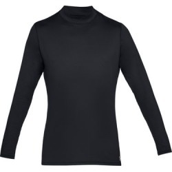 Under Armour Men's ColdGear Armour Long Sleeve Fitted Mock - Black S found on Bargain Bro India from golftown.com for $44.53