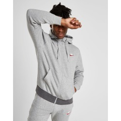Nike Foundation Full Zip Hoodie - Only at JD Australia - Grey/White/Red