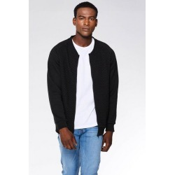 Quiz Black Quilted Zip Through Jersey found on Bargain Bro UK from Quiz Clothing