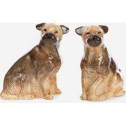 Border Terrier Stoneware Salt and Pepper Shakers found on Bargain Bro UK from Liberty.co.uk