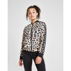All Over Print Superstar Tracktop Juniors' - Only at JD Australia - Pink/Black - Kids