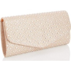 Quiz Gold Jewel Clutch Bag found on Bargain Bro UK from Quiz Clothing