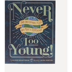 Never Too Young Book found on Bargain Bro UK from Liberty.co.uk
