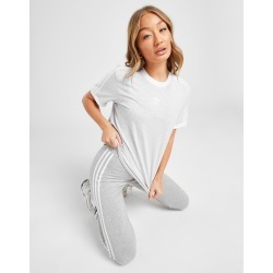 adidas Originals 3-Stripes Trefoil Boyfriend T-Shirt - Only at JD - Womens - Grey/White found on Bargain Bro India from JD Sports Malaysia for $43.40