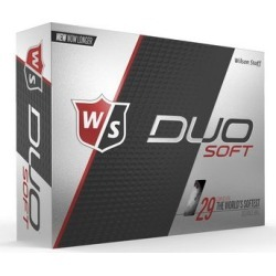 Wilson Staff DUO Soft Golf Ball - YellowL