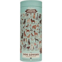 The Dog Lovers 1000 Piece Jigsaw Puzzle