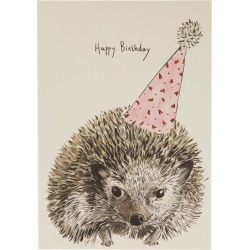 Party Hedgehog Birthday Card found on Bargain Bro UK from Liberty.co.uk