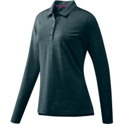 Adidas Women's Ultimate 365 Long Sleeve Polo  - DKGreen M found on Bargain Bro India from golftown.com for $53.33