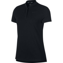 Nike Women's Aeroreact Short Sleeve Polo - Black S found on Bargain Bro India from golftown.com for $83.80