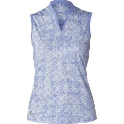 Adidas Women's Printed Sleeveless Top  - LTPurple S found on Bargain Bro India from golftown.com for $53.33