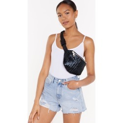 PU Textured Black Bum Bag found on MODAPINS from nasty gal limited for USD $16.00