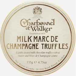 Milk Marc De Champagne Truffles 135g found on Bargain Bro from Liberty London US for USD $17.48