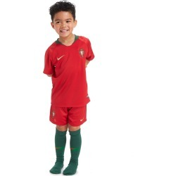 Nike Portugal 2018 Home Kit Children - Red - Kids