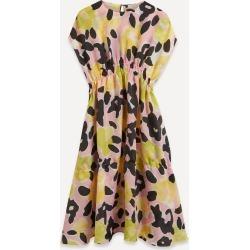 Jordan Drop-Waist Floral Dress found on MODAPINS from Liberty.co.uk for USD $296.85