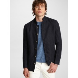 John Varvatos Willy Indigo Pinstripe Jacket found on MODAPINS from john varvatos dynamic for USD $498.00