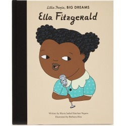 Little People Big Dreams Ella Fitzgerald found on Bargain Bro UK from Liberty.co.uk