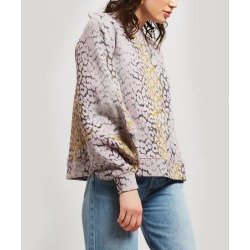 Isoli Leopard Print Sweater found on MODAPINS from Liberty.co.uk for USD $199.56