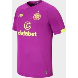 New Balance Celtic FC 2019/20 Goalkeeper Away Shirt - Purple - Mens