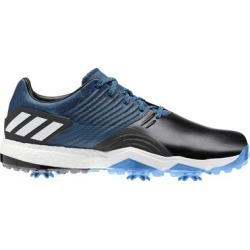 Adidas Men's Adipower 4ORGED Spiked Golf Shoe - BlueE/BLACK/WHITE - M 10.5 found on Bargain Bro India from golftown.com for $137.12