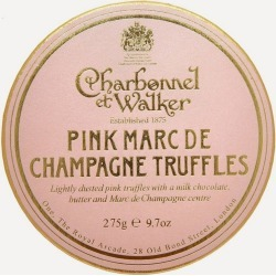 Pink Marc de Champagne Truffles 275g found on Bargain Bro UK from Liberty.co.uk