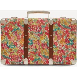 Margaret Annie Tana Lawn' Cotton Wrapped Suitcase found on Bargain Bro UK from Liberty.co.uk