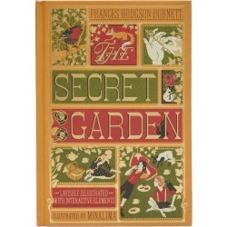 Illustrated The Secret Garden found on Bargain Bro UK from Liberty.co.uk