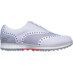 Skechers Women's Go Golf Elite Ace Spikeless Golf Shoe - White/NVY  - M 8.5 found on Bargain Bro Philippines from golftown.com for $140.12