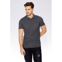 Quiz Black Print Collar Polo Shirt found on Bargain Bro UK from Quiz Clothing