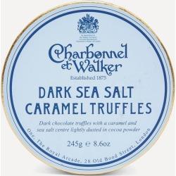 Dark Sea Salt Caramel Truffles 240g found on Bargain Bro UK from Liberty.co.uk