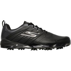 Skechers Men's Go Golf Focus 2 Spiked Golf Shoe - Black/Black  - M 10.5 found on Bargain Bro Philippines from golftown.com for $174.20