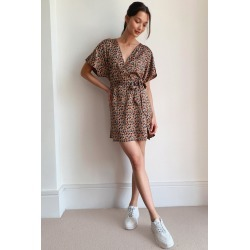 Womens Work of Art Abstract Mini Dress - Caramel found on MODAPINS from nasty gal limited for USD $24.80